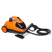 Пароочиститель Kitfort КТ-908 (Оранжевый) фото