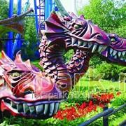 Топиарная фигура Змей Горыныч 1 фото