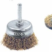 Щeтки проволочные со стержнем YT 4755 (Yato) фото