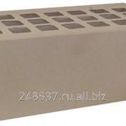 Кирпич облицовочный серый полуторный гладкий М-150 ЖКЗ фото