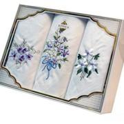 Платочки носовые подарочная упаковка фото