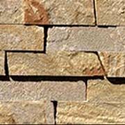 Камень песчаник для облицовки стен фото