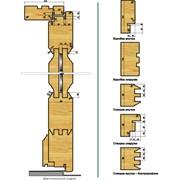 Набор головок для наружных дверей Frezwid 3 профиль фото