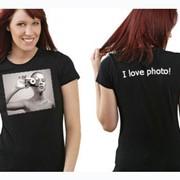 Печать фотографий на футболках Киев. Цена. фото