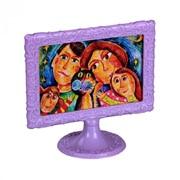 """Рамка для фото(10х15) """"Ажур"""" горизонтальный (фиолетовый) фото"""