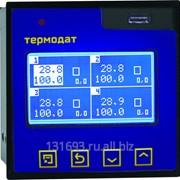 Измеритель-архиватор температуры Термодат-17Е6 - 2 универсальных входа, 1 дискретный вход, 2 симисторных выхода, 1 реле, интерфейс RS485, архивная память, USB-разъем фото