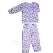 Пижама детская 3655-и интерлок, размер 52-92 фото