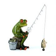 "Фигурка декоративная ""Рыбак"" 15*15см. 20746 фото"