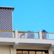 Ограждения балконов из металла и нержавеющей стали фото