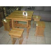 Садово-дачная мебель из натурального дерева