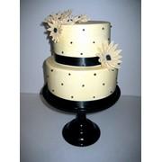 Торт свадебны №4 фото