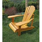 Крісло садове Адірондак фото