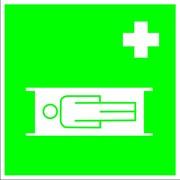 Медицинский знак, код EC 02 Средства выноса (эвакуации) пораженных фото