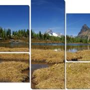 Модульная картина Горы, Неизвестен фото