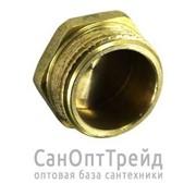 """Гайка-заглушка 1/2"""" НР латунь ТiМ фото"""