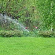 Установка систем полива для сада в Киеве, проектирование систем автоматического полива фото