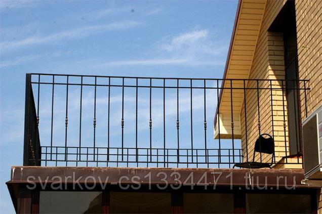 Фото: балконное ограждение. металлопрокат, метизделия, конст.