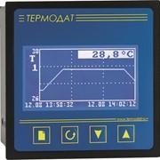 Электронный самописец Термодат-16К5 - 1 универсальный вход, 1 дискретный вход, 2 реле, 1 симисторный выход, 1 транзисторный выход, интерфейс RS485, архивная память фото