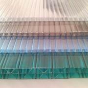 Сотовый поликарбонат, лист 4 мм фото
