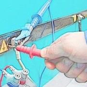 Испытание сопротивления металлической связи электрооборудования Рязани фото