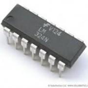 Микросхема ОУ, УНЧ, видео LM324 фото