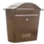Элемент художественной ковки Почтовый ящик черный 40\02 фото