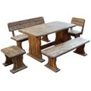 Деревянная мебель для дачи фото
