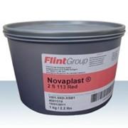 Краска офсетная Flint Group Novaplast Pantone 113 Warm Rot теплый красный фото