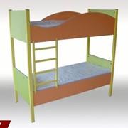 Ліжко дитяче 2х рівневе фото