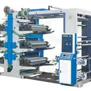Шестицветная флексопечатная машина YT-6600 фото