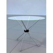 Стол со стеклянной столешницей STAR фото
