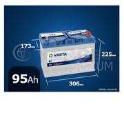 Батарея Varta Blue Dynamic 95Ah G7 обратная полярность фото