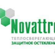 Сотовый поликарбонат Novattro синий 8 мм фото