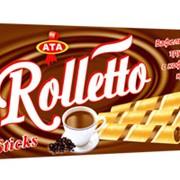 Трубочки с кофейным кремом Rolletto фото
