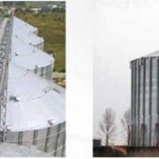 Зернохранилище бункерного типа фото
