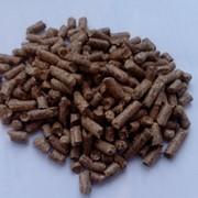 Пеллеты (гранулы) из лузги подсолнечника фото