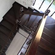 Изготовление деревянных лестниц в Калуге. фото