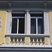 Декорирование фасада дома. Декорирование дома. Фасадные работы по индивидуальному заказу фото