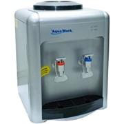 Настольный кулер для питьевой воды Aquawork 36-ТК серебристый фото