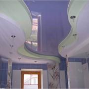 Демонтаж навесной конструкции потолка фото