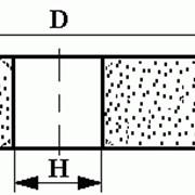 Круги из кубического нитрида бора (КНБ) плоские прямого профиля на керамической связке формы 1А1 фото