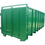 Контейнер для строительного мусора, крюковой 16-37 м.куб.
