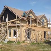 Строительство. Украина, Киевская обл. Строительство коттеджей по канадской деревянно-каркасной технологии. Возможность просмотра построенных домов. Цены антикризисные. фото