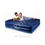 Двухспальная надувная кровать INTEX 66702 (электрический насос) фото