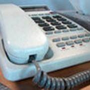 Телефонная линия информационной или технической поддержки фото