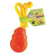 Игрушка для собак Jolly Pets Белка на канате фото