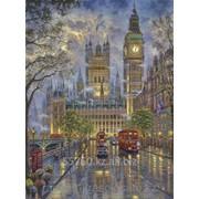 Картина по номерам Лондон. Вестминстерский дворец фото