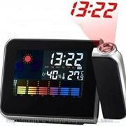 Многофункциональные часы-проектор фото