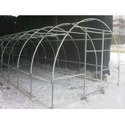 Теплица Мария Делюкс 6 х 3 метра из квадратной трубы в комплекте с поликарбонатом 4 мм