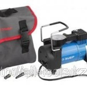 Компрессор Зубр Эксперт автомобильный давление 10 атм, длина провода 3 м, длина шланга 2 м, 3 насадки Код: 61127 фото
